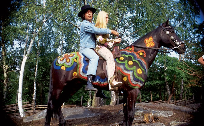 Lee Hazlewood rides his luck in the 1970 documentary Cowboy in Sweden