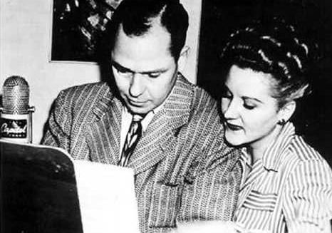 Johnny Mercer and Margaret Whiting, c 1949