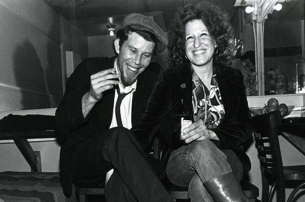 Tom Waits and Bette Midler