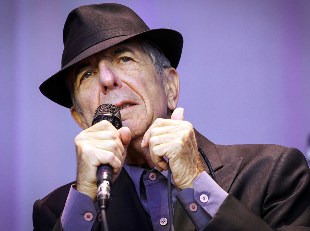 Leonard Cohen. He knows.