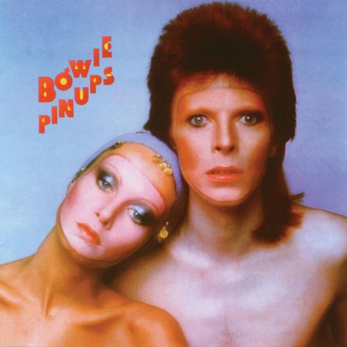 David Bowie's Pin Ups – a covers album with Twiggy on the cover