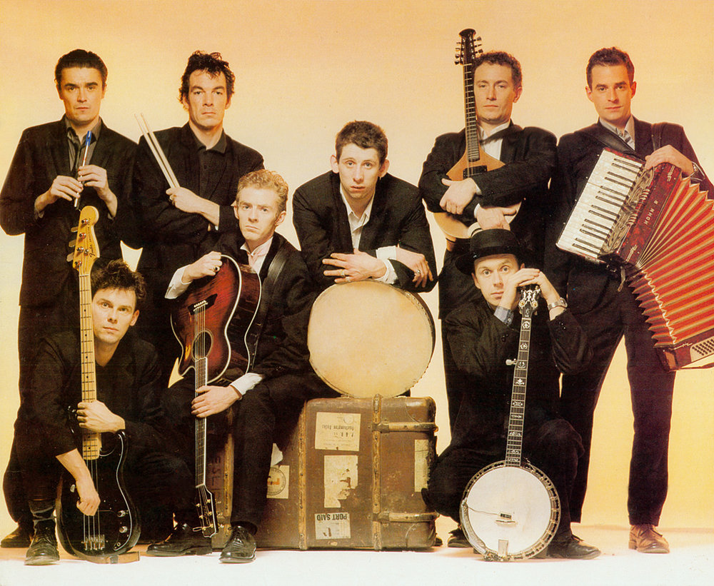 The Pogues, from the cover of the 1988 album If I Should Fall from Grace with God