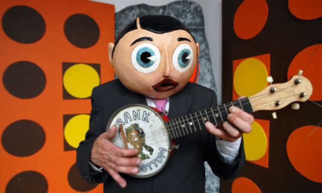 Frank Sidebottom aka Chris Sievey