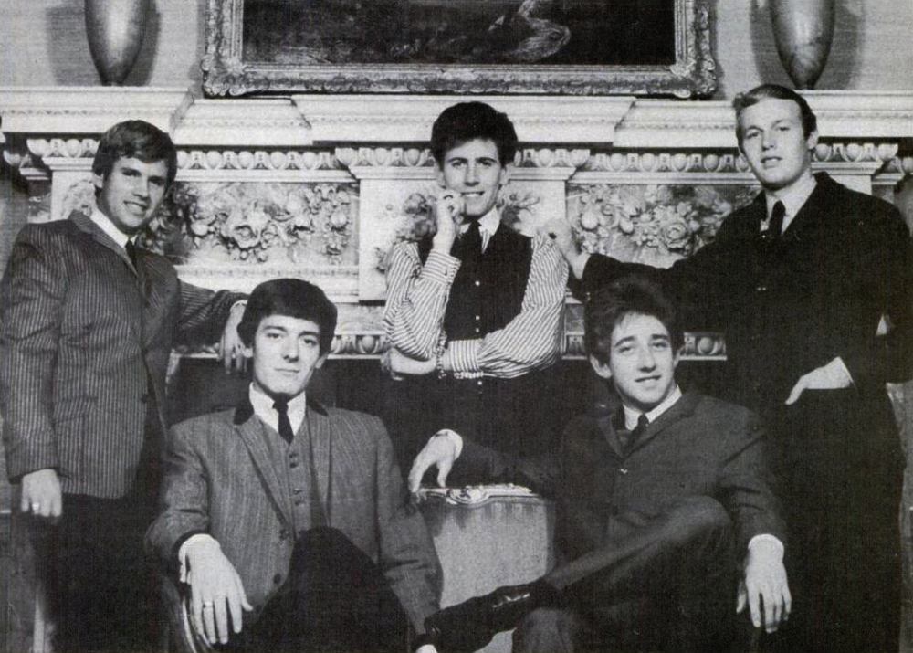 The Hollies in 1966