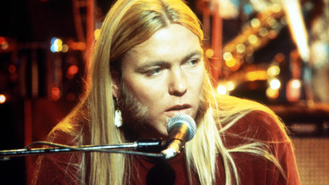 Gregg Allman on lead vocals and keyboards