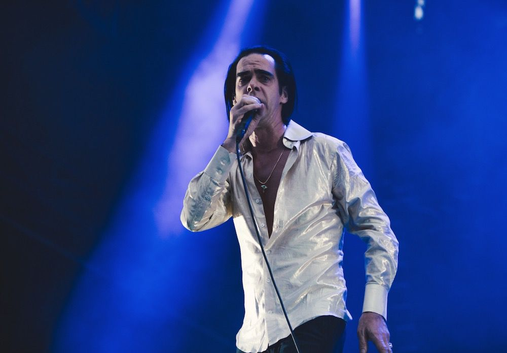 Nick Cave. No intervening.