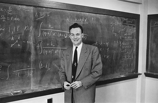 Richard P Feynman