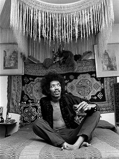Jimmy Hendrix's bedroom then …