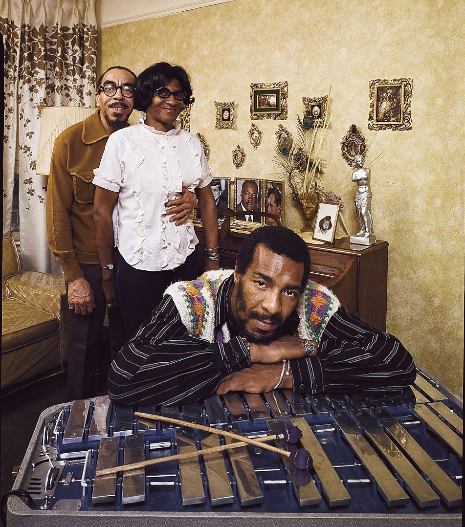 RIchie Havens with parents Richard and Mildred in Brookyn
