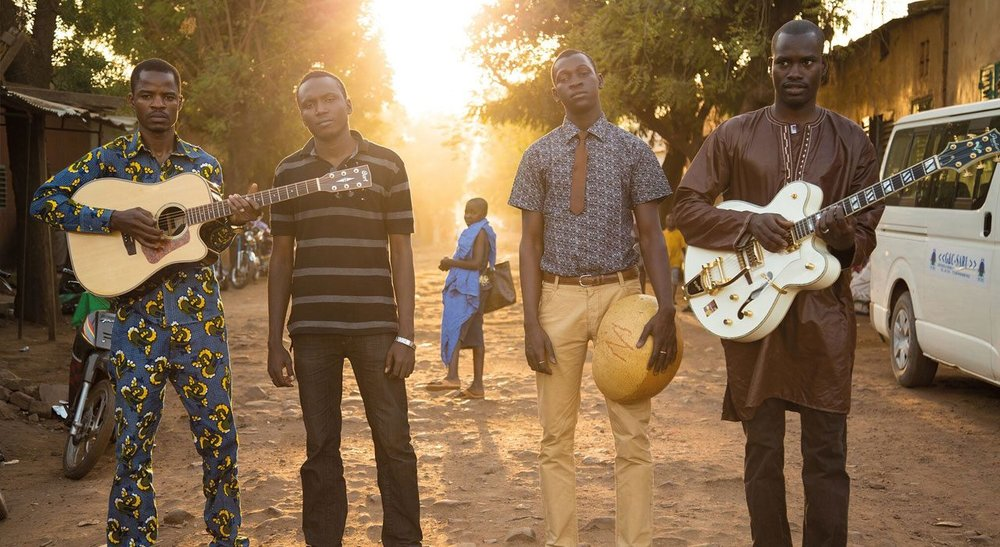 Desert to Delta: Songhoy Blues were formed in Bamako, Mali.
