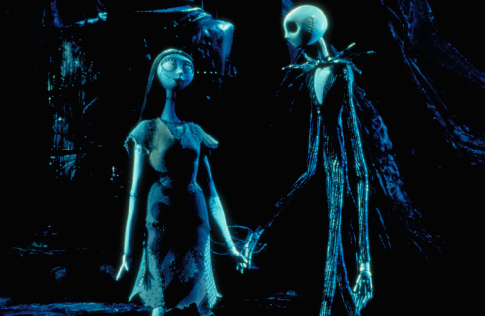 You give me femur … Jack and Sally - The Nightmare Before Christmas