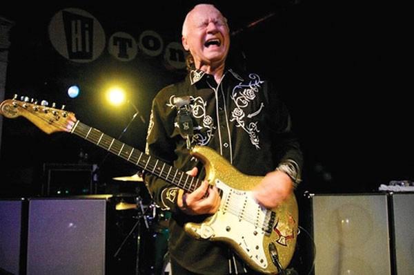 Dick Dale, still rockin', aged 78, in 2015.