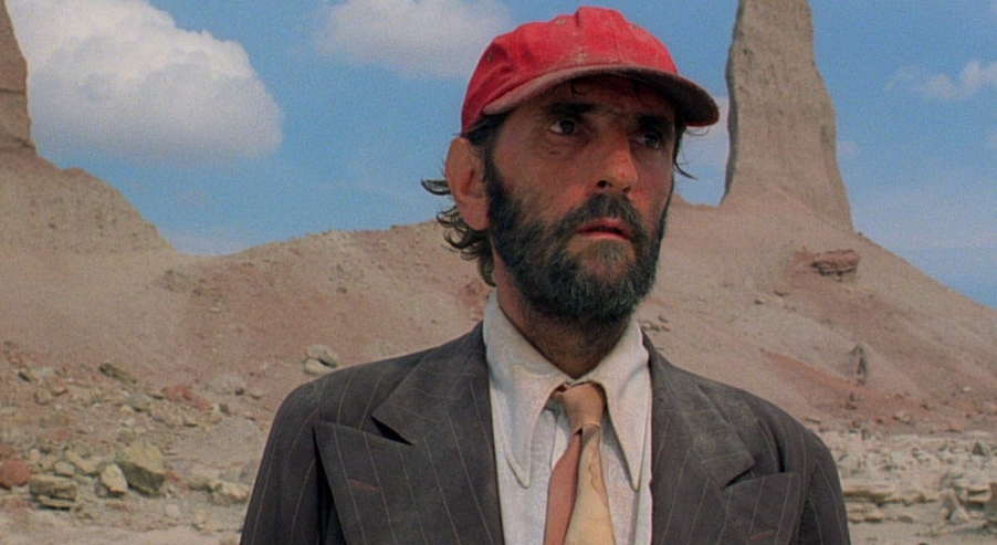 Harry Dean Stanton in Paris, Texas. 'His face told a story'.