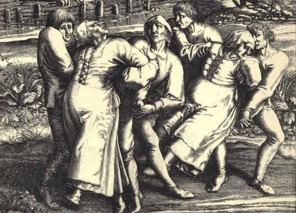 Dancing plague ... dodgy drug dealers in medieval times?