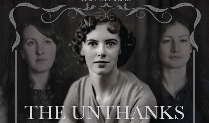 Molly Drake (centre, shown here with Rachel and Betty Unthank)