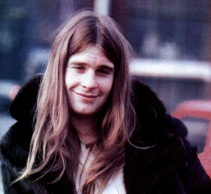 Young Ozzy Osbourne.