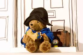 Paddington Bear. Paws for thought.