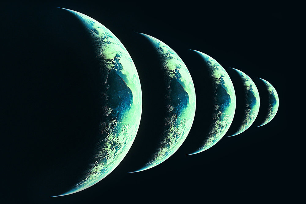 Multiverse theory …