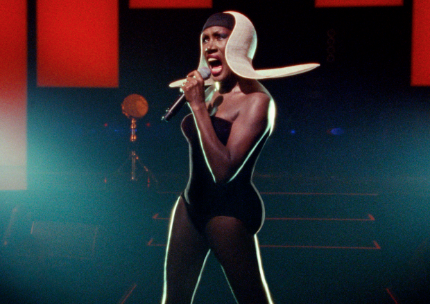 The unmistakable Grace Jones