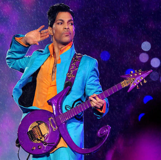 Prince. His guitar was a symbol of so many things …