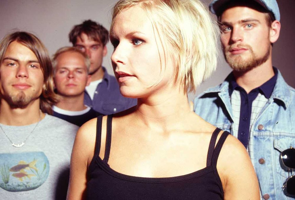 The Cardigans, with singer Nina Persson