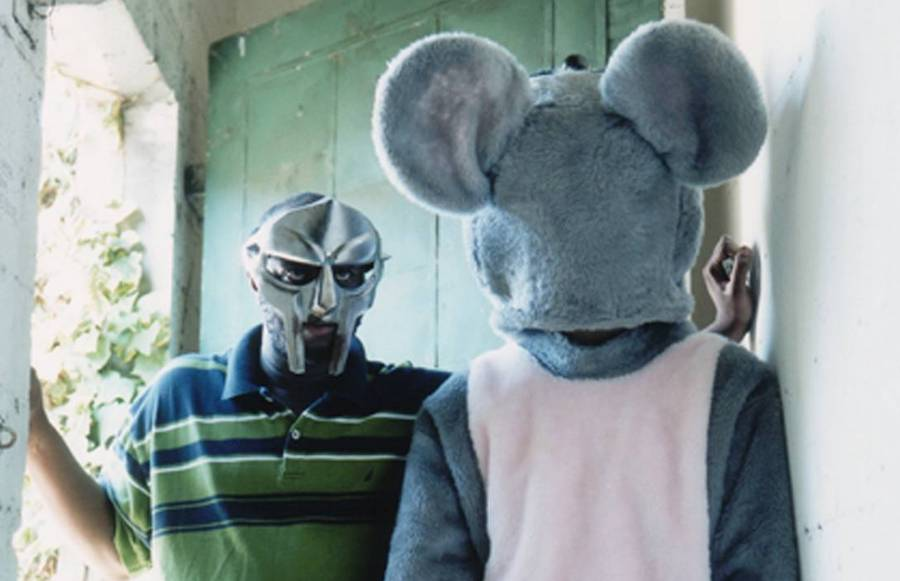 Danger Doom, aka MF Doom, left, and Danger Mouse. Of course.
