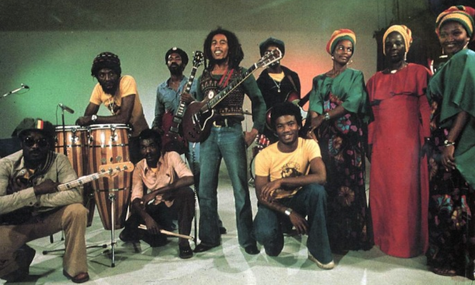 Bob Marley & The Wailers in their early heyday