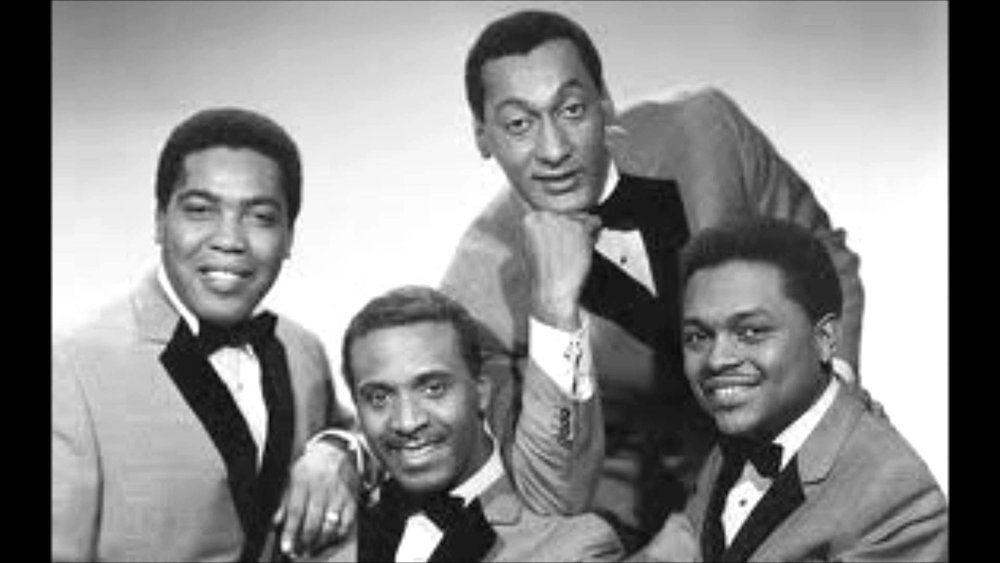 "The Four Tops:  Levi Stubbs, Abdul ""Duke"" Fakir, Renaldo ""Obie"" Benson and Lawrence Payton"