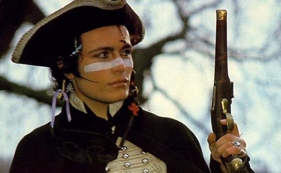 Adam Ant: stands and delivers …