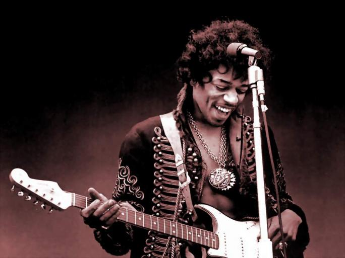 Jimi Hendrix, out-foxing all other guitarists in 1967, and ever since.