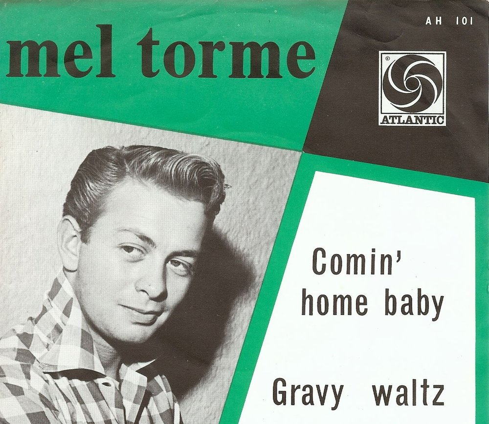 From Atlantic single cover, 1962.