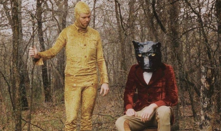 Into the woods … from the cover of Midlake's The Trials of Van Occupanther