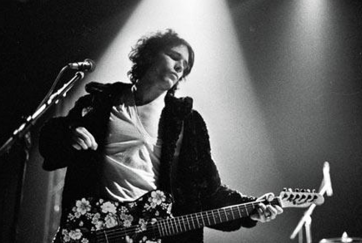Jeff Buckley in full swing
