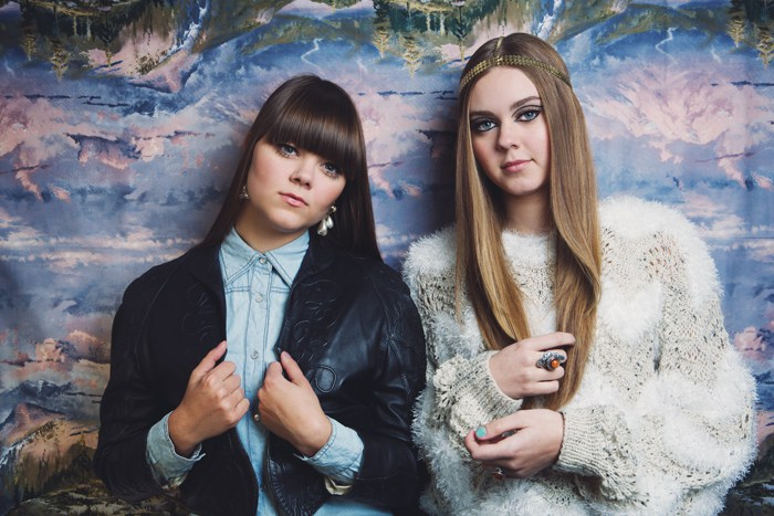 First Aid Kit sisters Klara and Johanna Söderberg