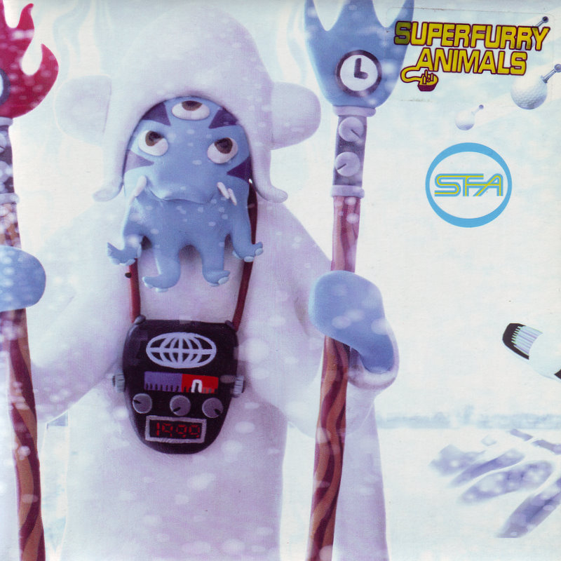 Super Furry Animals single cover for Northern Lites