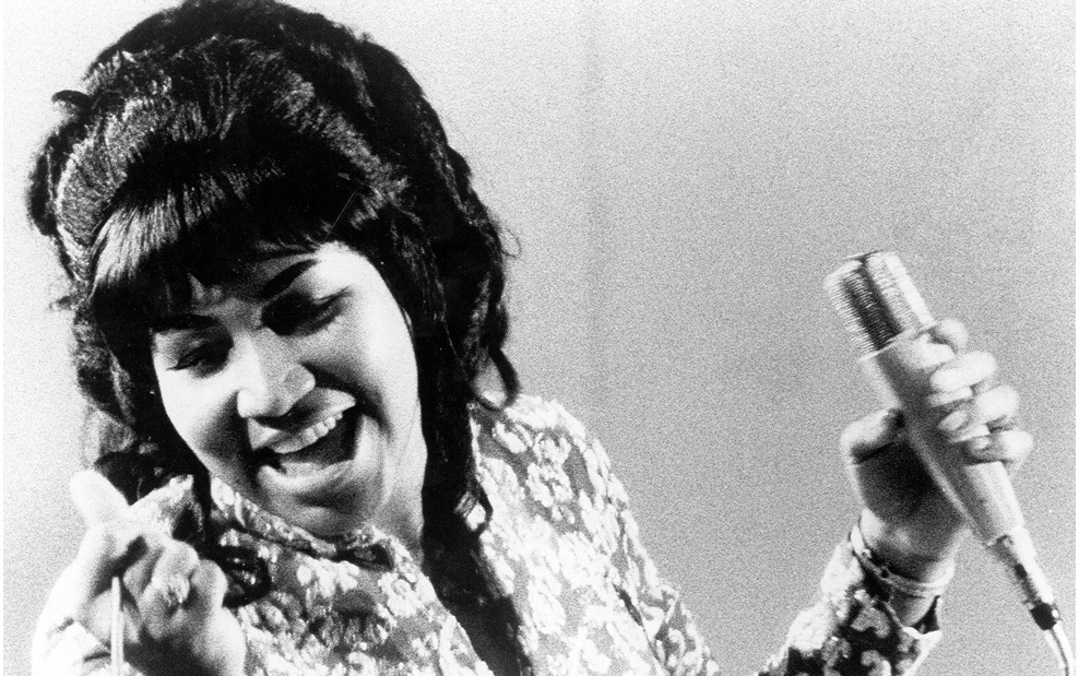 Aretha Franklin, of course