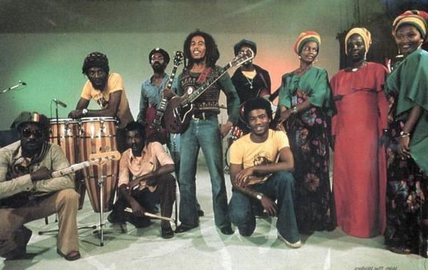 The Wailers that global star, Bob Marley
