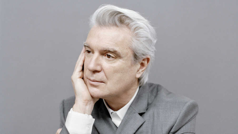 David Byrne. Forever positive.