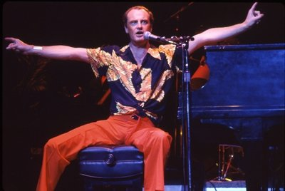 Peter Allen. Enjoying it both ways.