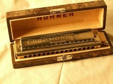The classic Hohner Chromonika