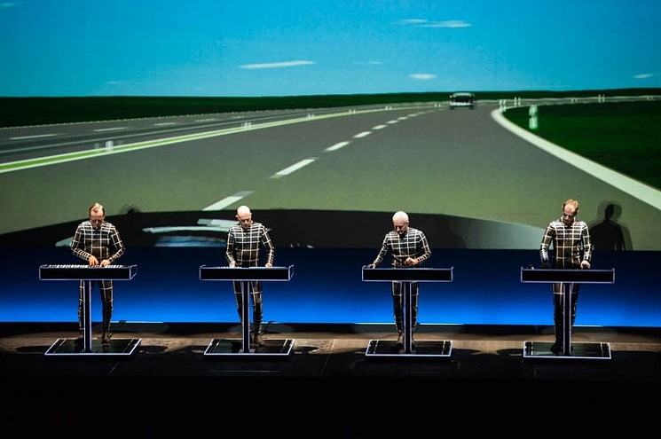 Kraftwerk in more recent performance of that timeless classic