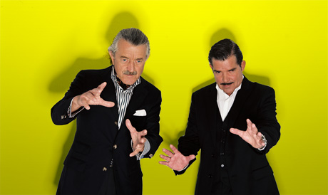 Racing Yello? Dieter Meier and Boris Blank