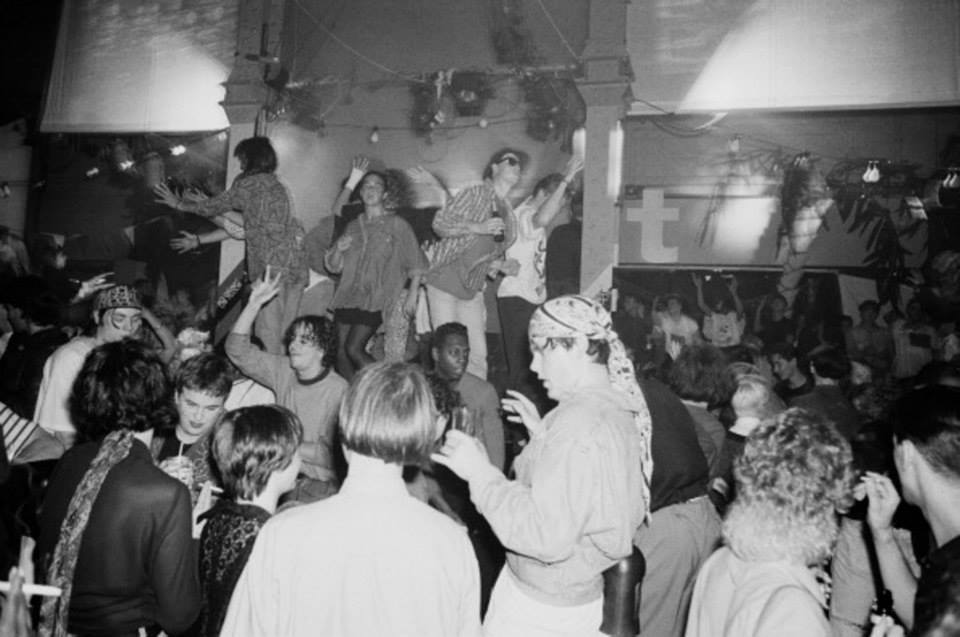 Manchester's Hacienda in 1988