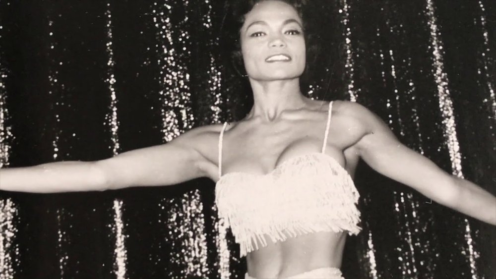 Eartha Kitt in Las Vegas in the 1950s