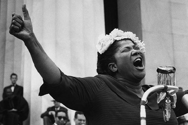 A voice everlasting: Mahalia Jackson