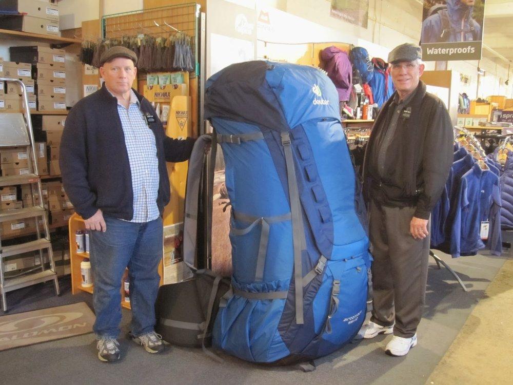 How big should a bag be?