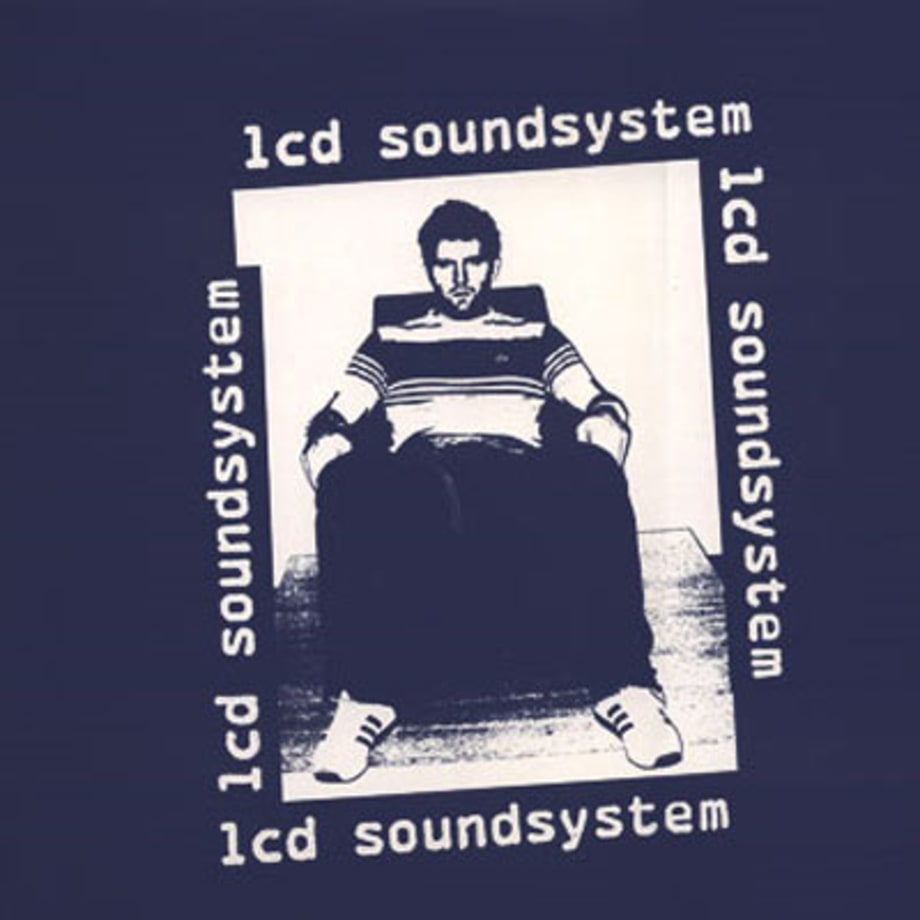The sleeve for LCD Soundsystem's debut first single