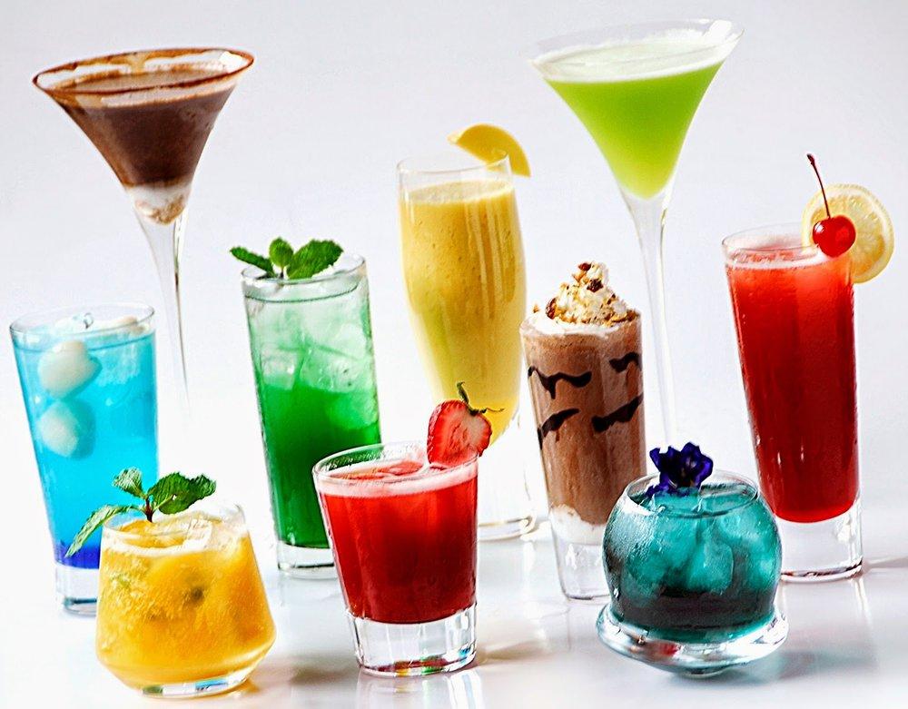 Mocktails slding your way …