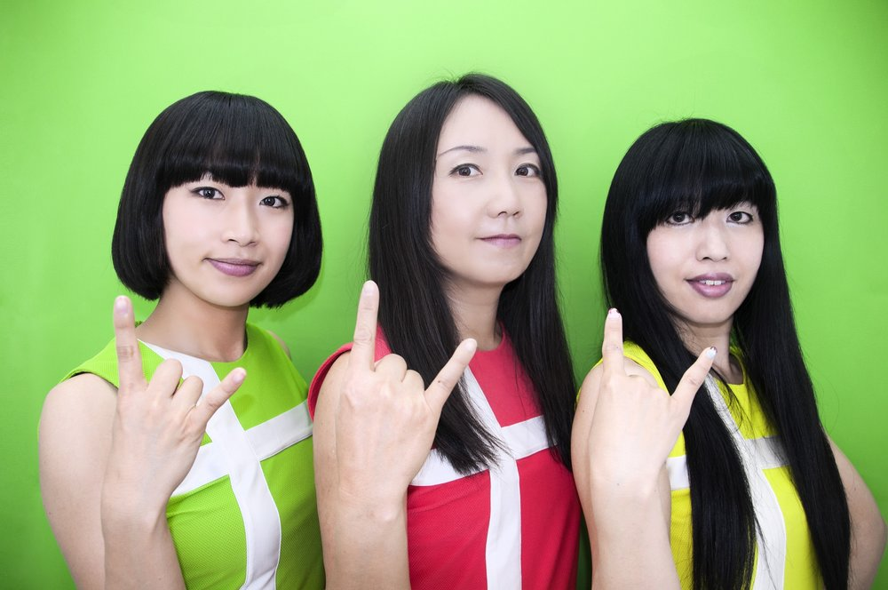 Shonen Knife are stirring the hot chocolate