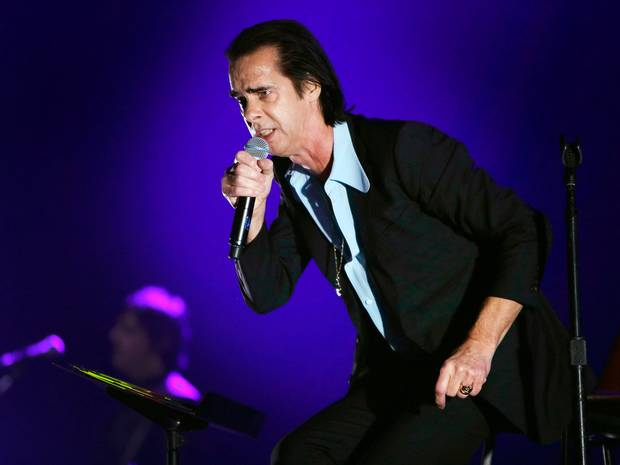 Devilishly messianic: Nick Cave in full flow